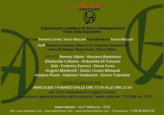 Premio Art Abitart Hotel: III° Step Espositivo